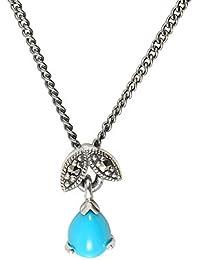Esse Marcasite Collar Corto Mujer plata - 214N4889-14