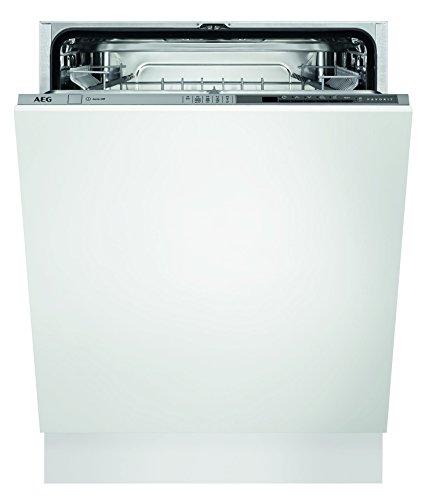 AEG FSE53600Z Geschirrspüler (vollintegriert) / sparsamer Einbaugeschirrspüler der Energieklasse A+++ (234 kWh pro Jahr) / Spülmaschine...