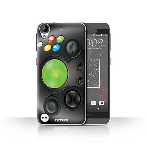 Hülle Für HTC Desire 630 Spielkonsolen Xbox Design Transparent Ultra Dünn Klar Hart Schutz Handyhülle Case