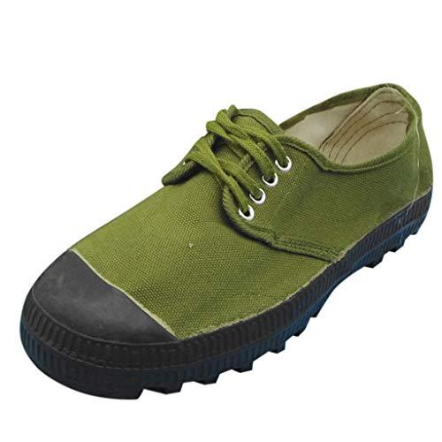 LSAltd Paar Fashion Solid Color Liberation Schuhe Casual rutschfeste Verschleißfeste Lace Up Low-Top Sicherheitstraining Schuhe (Wrap & Seide Hosen Top)
