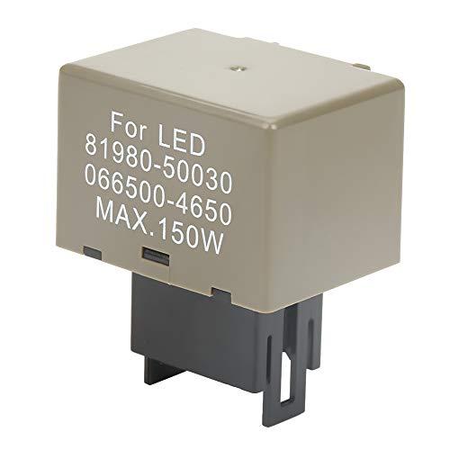 LED Blinkrelais 8 Pin 150W elektronisch für LED Blinker Glühlampen 12V DC -