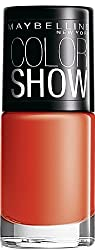 Maybelline Color Show Nail Enamel, Orange Fix 214 (6 ml)