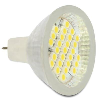 MR11 LED Leuchtmittel 27x SMD warmweiß 2,0W Glasabdeckung von API Computerhandels GmbH Firstorder - Lampenhans.de