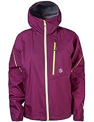 Ternua Gore-Tex Chaqueta GIRDWOOD (-30%) de esqui y trekking para mujer, impermeable, muy transpirable y totalmente cortaviento. Incluye bolsa de transporte.