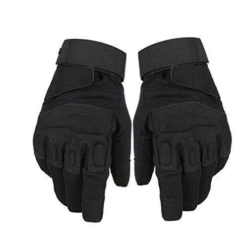 Guanti moto unisex Tessuto traspirante antiscivolo per tutte le stagioni a velocità massima di sicurezza per le dit