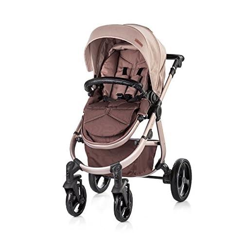 Chipolino Baby Stroller 3 in 1 Nina, Mocca 41bRsZk3fKL