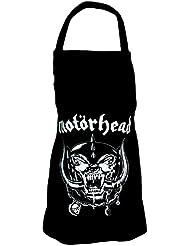 Motörhead Grillschürze England Warpig Skull Kochschürze