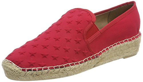 Tommy Hilfiger Damen Corporate Slip on Espadrille, Rot (Tango Red 611), 39 EU