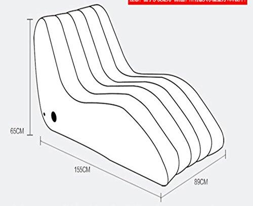 ASZLL Faule Menschen kreative Freizeitspaß Stühle plus s-Siesta Sofastühle, aufblasbare Sofa, aufblasbares Sofa Bett - 2
