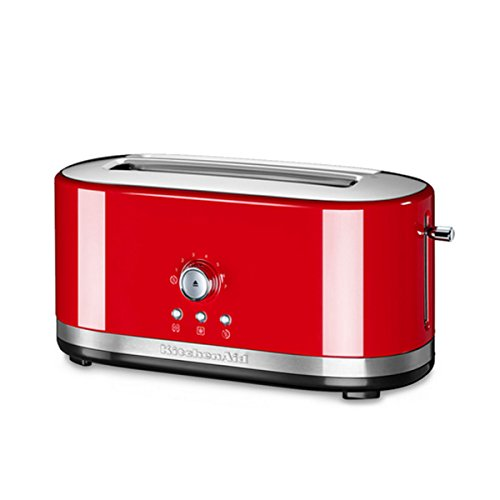 KitchenAid 5KMT4116 5KMT4116-Grille-pain, 1800 W, Rouge