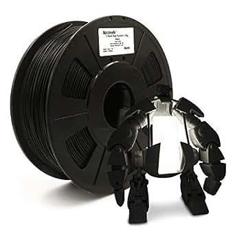WEISTEK ACCCREATE PLA 3D Printer Filament, Dimensional Accuracy +/- 0.03 mm, 1 kg Spool, 1.75 mm, Black