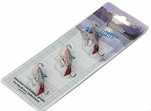 3 Balance Jig Zocker für Barsch, Forelle und Eisangeln