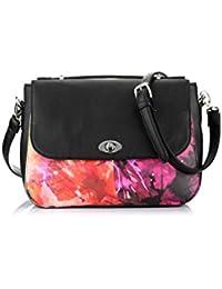 Satyapaul Women's Handbag (Black Multicolor) (T397-0169)