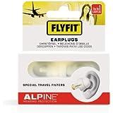 Alpine FlyFit Bouchons d'oreilles pour Avion/Voyage Blanc