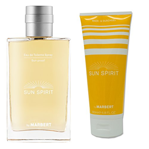 Marbert Sun Spirit Eau de Toilette Spray 100ml + Duschgel 200ml