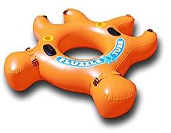Fluzzle Tube- Orange