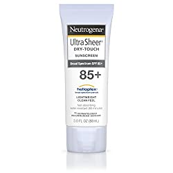 Neutrogena Ultra Sheer Dry-Touch Sunscreen SPF 85+ -- 3 fl oz