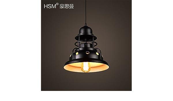 Lampadario Plafoniera Rustico Ferro Battuto : Shengye stile rustico plafoniera lampada a sospensione stile