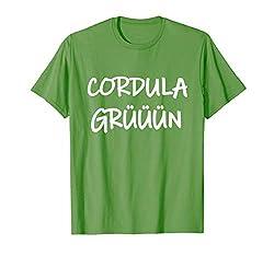 Cordula Grün Kostüm Party Apres Ski & Malle Song Tanz T-Shirt