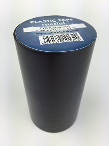 Reparaturklebeband für Teichfolie Folie jeder Art 10cm x 10m extrem hohe Klebekraft! (Schwarz)
