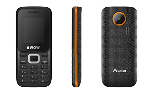 AWOW GSM Unlocked Mobile Phone with Dual SIM Card Slot, Keyboard, Camera