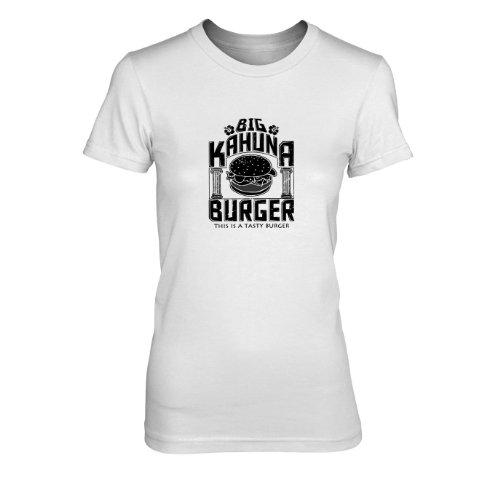 Big Kahuna Burger - Damen T-Shirt, Größe: XL, Farbe: weiß