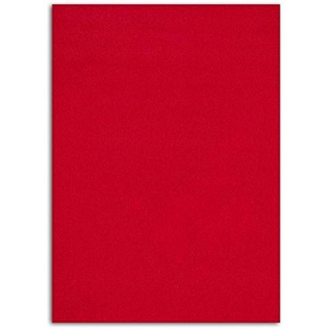 Mademoiselle Toga meg201Floc thermocollant tessuto rosso 15x 21x 0,1cm