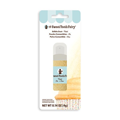 American Crafts Sweet Tooth Fairy Dust Pump .14oz-Gold -