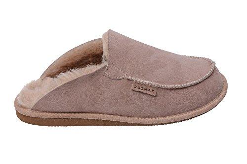 mujer-hombres-clasico-de-cuero-de-piel-recortar-calentar-pantuflas