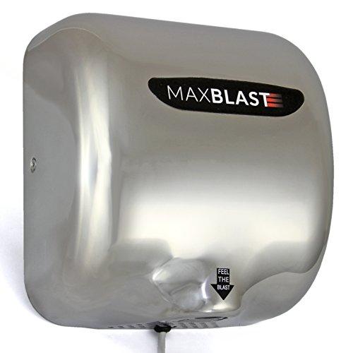 MAXBLAST Gastro Automatik Händetrockner Handtrockner Hand Trockner Einzelhandel 550 Watt Silber