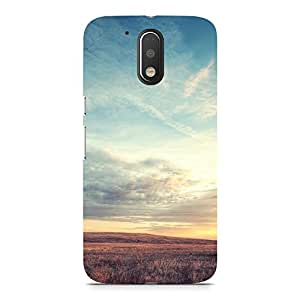 Hamee Designer Printed Hard Back Case Cover for Motorola Moto G4 Design 6830