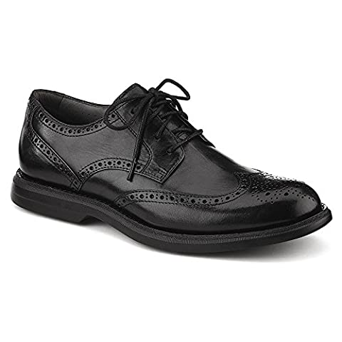 Sperry Top-Sider Mens Gold Cup Bellingham Wingtip with ASV,Black Leather,US 9.5