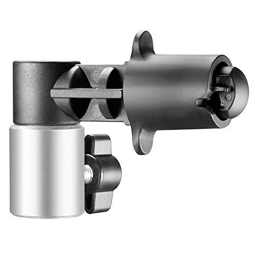 TAKEMORE7 Reflektor-Clip, Studio-Hintergrund und Reflektorscheibenhalter Clips, Stabile Lichtreflektorscheiben-Halterung und Positionierungsklemme, montierbar auf Lichtstativ