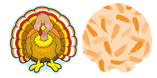 Turkey Mini Cut-Outs