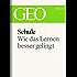 Schule: Wie das Lernen besser gelingt (GEO eBook)