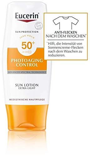 Eucerin Sun Loción photoaging Control SPF 50+ 150Mililitro