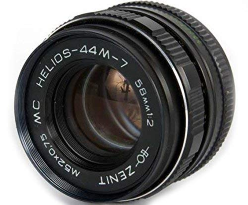 Helios 44M-7 58mm F2 Sowiet Lens for Canon EOS