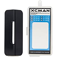 xcman Alpine Snowboard Hard Aluminum Racing Side Bevel Angle File Guide CNC Precision fabricado