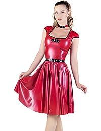 Suchergebnis auf Amazon.de für: rotes ausgestelltes kleid ...