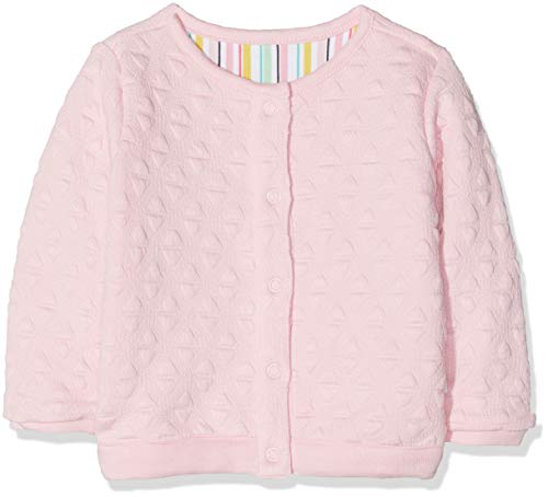 Noppies Baby-Mädchen G Sweat Reversible ls Prien Sweatshirt, Pink Mist P011, 56 -