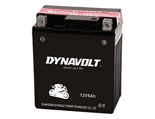 Dynavolt Batteria per moto YTX7-BS - DTX7-BS 12 V, 6 Ah