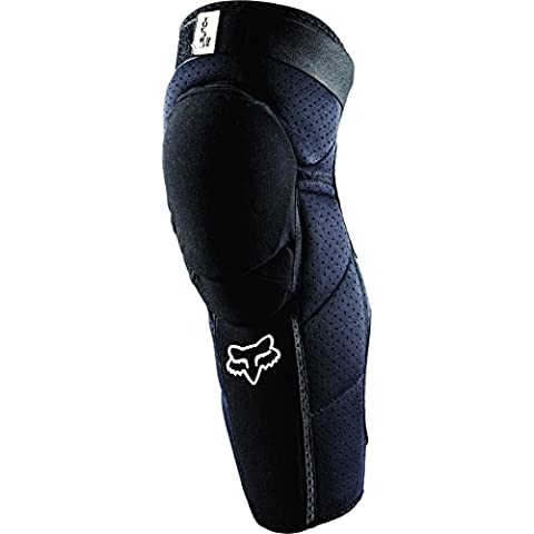 MX Knee Guard Fox Launch Pro Nero, Nero (nero), S/M