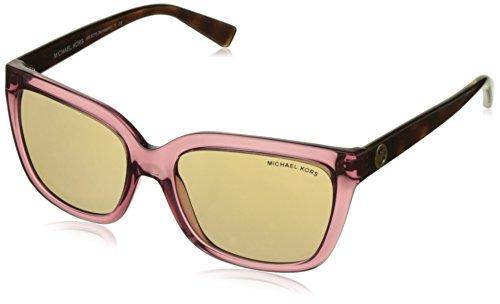 Michael Kors Unisex Sonnenbrille MK6016 Sandestin, Mehrfarbig (Rose Transparent),54 (Pink Kors Sonnenbrille Michael)