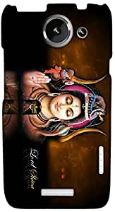 Timpax Protective Hard Back Case Cover Printed Design : God Shiva.Exclusively Design For : HTC X+ ( Plus )