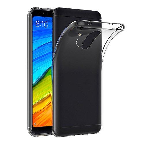 AICEK Funda Xiaomi Redmi 5 Plus, Transparente Silicona Fundas para Xiaomi Redmi 5 Plus Carcasa Silicona Funda Case (5,99 Pulgadas)
