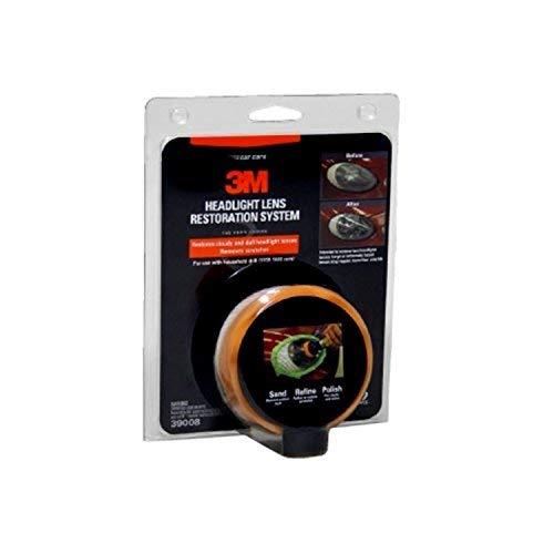 3M Scheinwerfer-Reparaturset für Kit, alle Optionen inkl. Wurth Scheibenwischerflüssigkeit-Zusatzstoff 3 Scheinwerfer-scheinwerfer