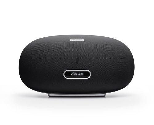 Denon Cocoon Home DSD-500, Diffusore e Docking Station per iPod/iPhone/iPad, Wireless, Compatibile con Apple Airplay, USB, Ethenert, Nero