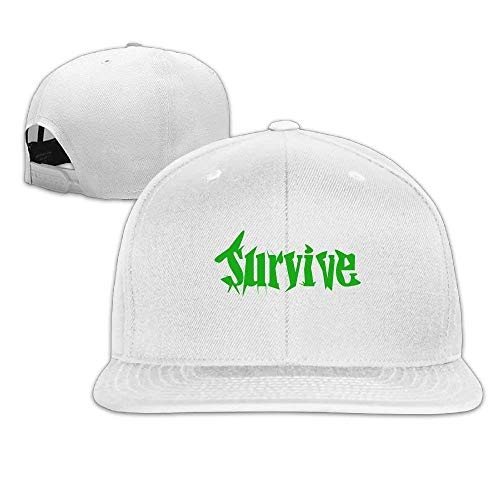 Wfispiy Word Design-Logo-Survive Classic Cotton Dad Hat Casual Trucker Caps X1675