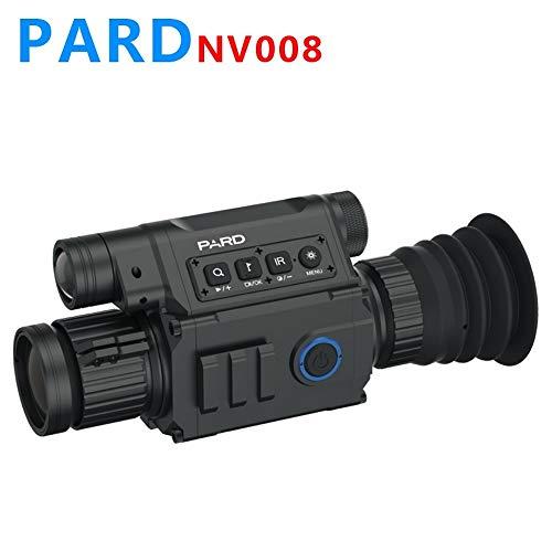 Pard NV008 Night & Day Zielfernrohr HD 308 Caliber Proof 200M Range Night Zielfernrohr für die Jagd bei Nacht mit APP WiFi, 6.5-12X IR Nachtsicht Zielfernrohr 5w 850nm IR