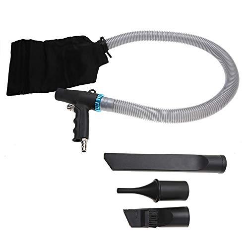 Doppelnutzungs-Staubblas-Set, Hochdruck-Druckluftkompressor-Blas-/Saugpistole Pistolen-Typ Pneumatisches Reinigungswerkzeug